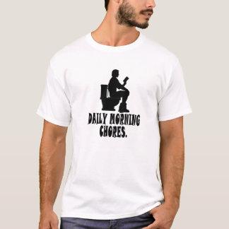 Daily Morning Chores T-Shirt