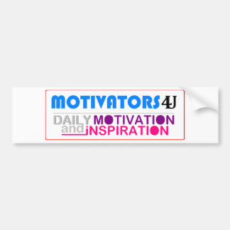 Daily Motivation & Inspiration Bumper Stickers