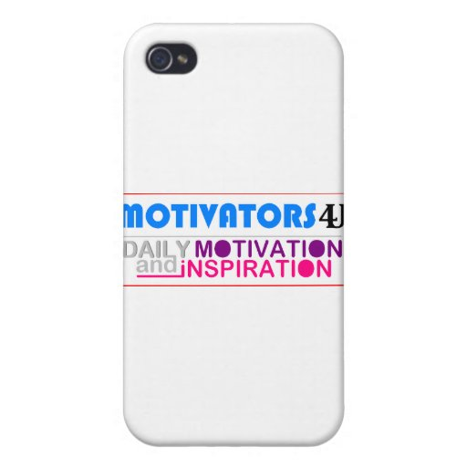 Daily Motivation & Inspiration Cases For iPhone 4