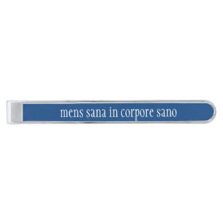 Daily Motto:  Mens Sana In Corpore Sano - Tie Clip