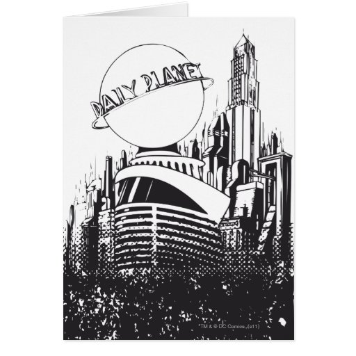 Daily Planet Greeting Cards