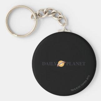 Daily Planet Logo Keychain