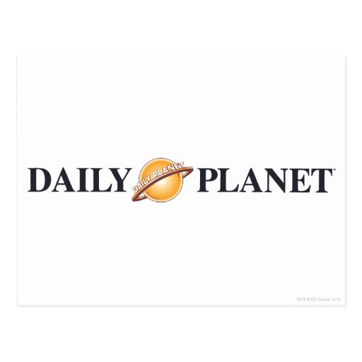 Daily Planet Logo Postcards