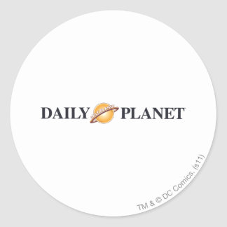 Daily Planet Logo Stickers