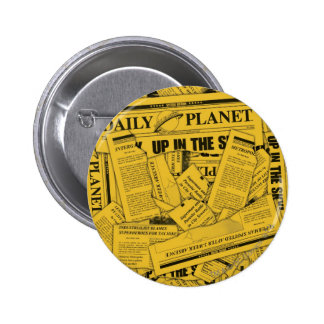 Daily Planet Pattern - Yellow Pins