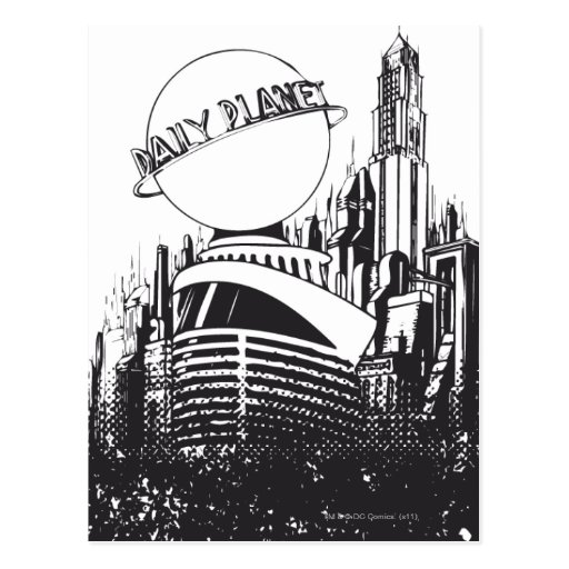Daily Planet Post Card