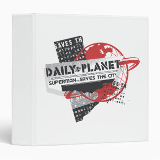 Daily Planet - Saves the City Binders