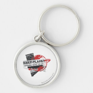 Daily Planet - Saves the City Keychain