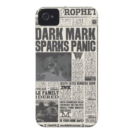 Daily Prophet Front Page iPhone 4 Case