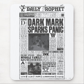 Daily Prophet Front Page Mouse Pad
