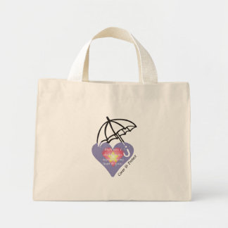 Daily Reminder - Cover & Protect Heart & Spirit Mini Tote Bag
