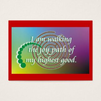 Daily Reminder - Joy Path Business Card