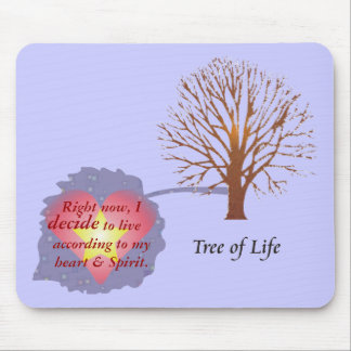 Daily Reminder - Tree of Life Mouse Pad