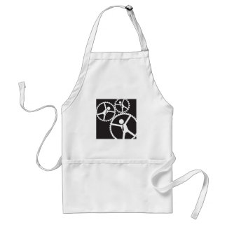 daily routine adult apron