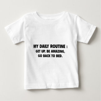 Daily Routine Baby T-Shirt