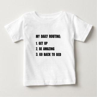 Daily Routine Baby T-Shirt