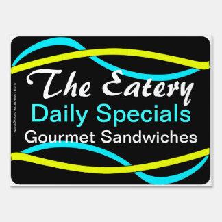 Daily Specials Restaurant Sign