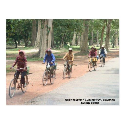 Daily Traffic * Angkor Wat - Cambodia... Postcards