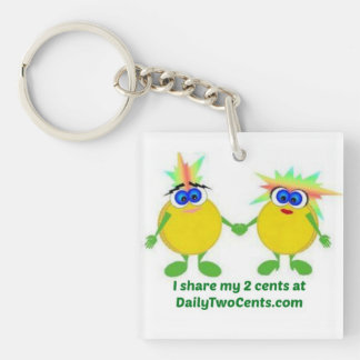 Daily Two Cents Keychain
