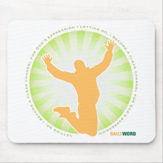 """DAILY WORD® """"Let Go, Let God"""" Mousepad"""