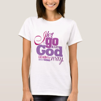 "DAILY WORD®  ""Let Go, Let God"" T-shirt"