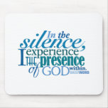 "Daily Word® ""Silence"" Mousepad"