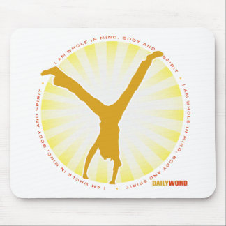 """DAILY WORD® """"Wholeness"""" Mousepad"""
