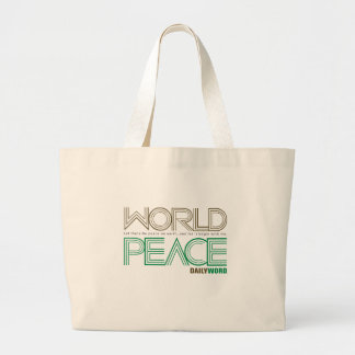 "DAILY WORD®  ""World Peace"" Canvas Bag"