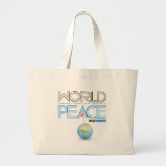 "DAILY WORD®  ""World Peace"" Tote Bag"
