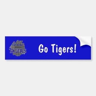 Daingerfield High School Tigers, Daingerfield, TX Car Bumper Sticker