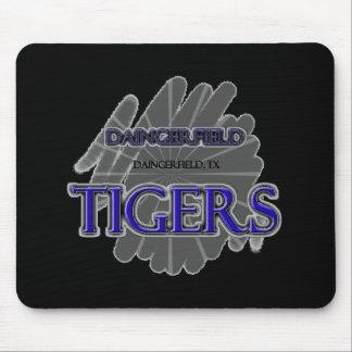 Daingerfield High School Tigers, Daingerfield, TX Mouse Pad