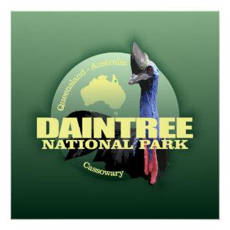 Daintree NP (Cassowary) WT Poster