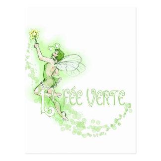 Dainty Absinthe La Fee Verte I Post Card