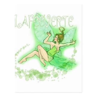 Dainty Absinthe La Fee Verte II Postcard