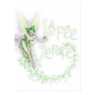 Dainty Absinthe La Fee Verte III Postcards