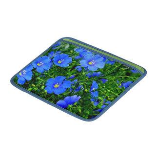 "Dainty Blue Flax Macbook Air Sleeve 13"""