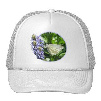 Dainty Butterfly Flowers Hat