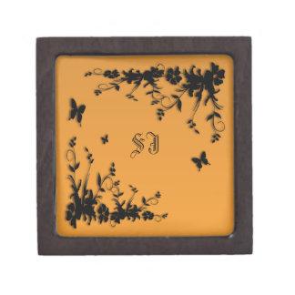 Dainty Butterfly Gift Box Premium Keepsake Boxes