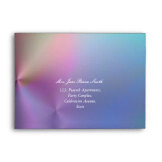 Dainty color blast any occasion envelopes