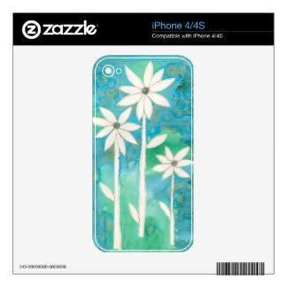 Dainty Daisies II iPhone 4S Decals