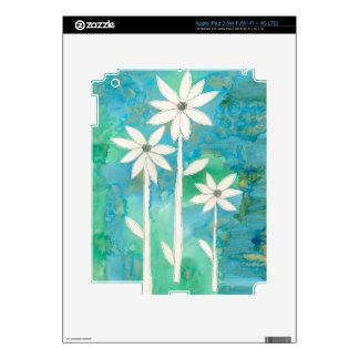 Dainty Daisies II Skins For iPad 3