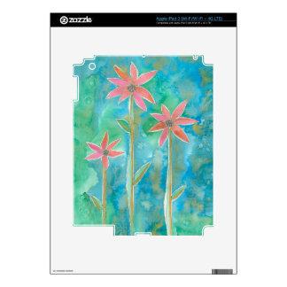 Dainty Daisies III iPad 3 Skins