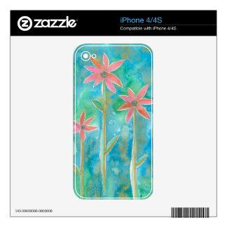 Dainty Daisies III iPhone 4 Skins