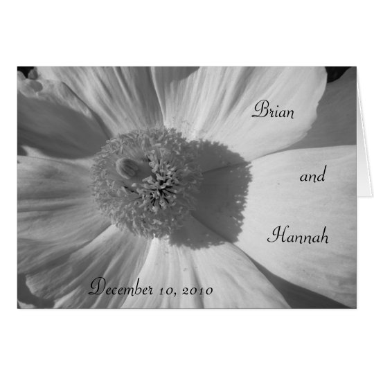 Dainty Daisy Wedding/Anniversary Card
