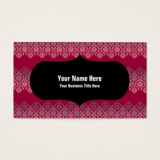 Dainty Damask Business Card