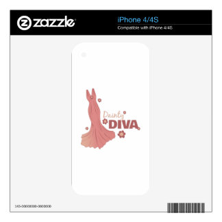 Dainty Diva Skins For iPhone 4S
