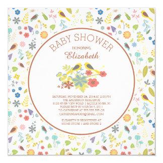 Love Bird Baby Shower Invitations Announcements Zazzle