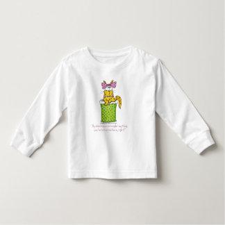 Dainty Garbage Kitty Toddler T-shirt