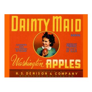 Dainty Maid Orange Post Card