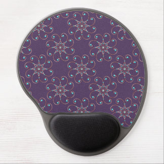 Dainty Octo-Fleur Ergonomic Gel Mousepad